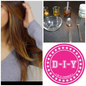 DIY – Masque Maison pour Cheveux Sec ou Abimés – Hair mask for dry or damaged hair